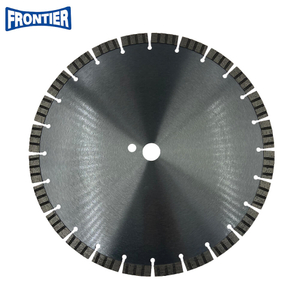350*4.0/2.2*15*24*25.4 Cold Press 14inch Sintered Diamond Segmented Turbo Granite Cutting Blade