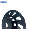 125*L*5*7*22.23 High Frequency Diamond Cup Diamond Grinding Wheel for Concrete , Stone