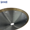 250*2.0/1.6*10*25.4mm Hot Press 10inch Continuous Rim Diamond Saw Blade for Cutting Tile