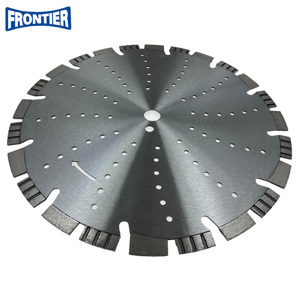 406*40*3.4/2.6*15/20*24*25.4 Laser Welded Fast Cutting Diamond Blade for Concrete