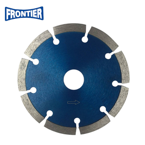 "4""inch 110x7x20mm Segmented dry cutting diamond saw blade"