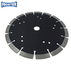 230*40*3.0/1.8*12*15*22.23mm laser welded arix diamond saw blade for dry cutting asphalt