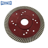 115*2.0/1.2*12*72*22.23mm with reinforced center 4.5inch Hot Press diamond fine turbo blade for dry cutting granite