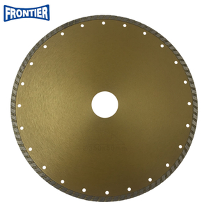 350*4.0/2.2*8*90*50mm Cold Press 14inch sintered diamond continue rim turbo diamond saw blade for cutting general purpose