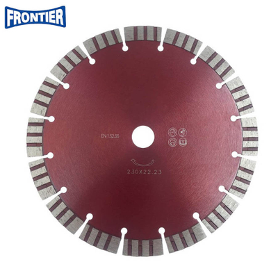 230*3.2/1.8*15*16T*22.23mm Cold Press 9inch sintered diamond segmented turbo diamond disc for cutting reinforced concrete