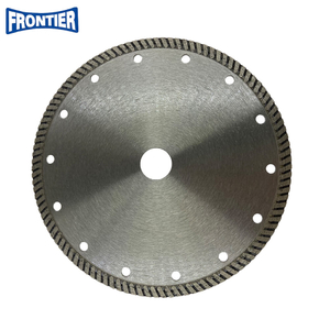 180*2.2/1.6*7*110*22.23 Hot Press diamond fine turbo diamond cutting disc for cutting granite , stone