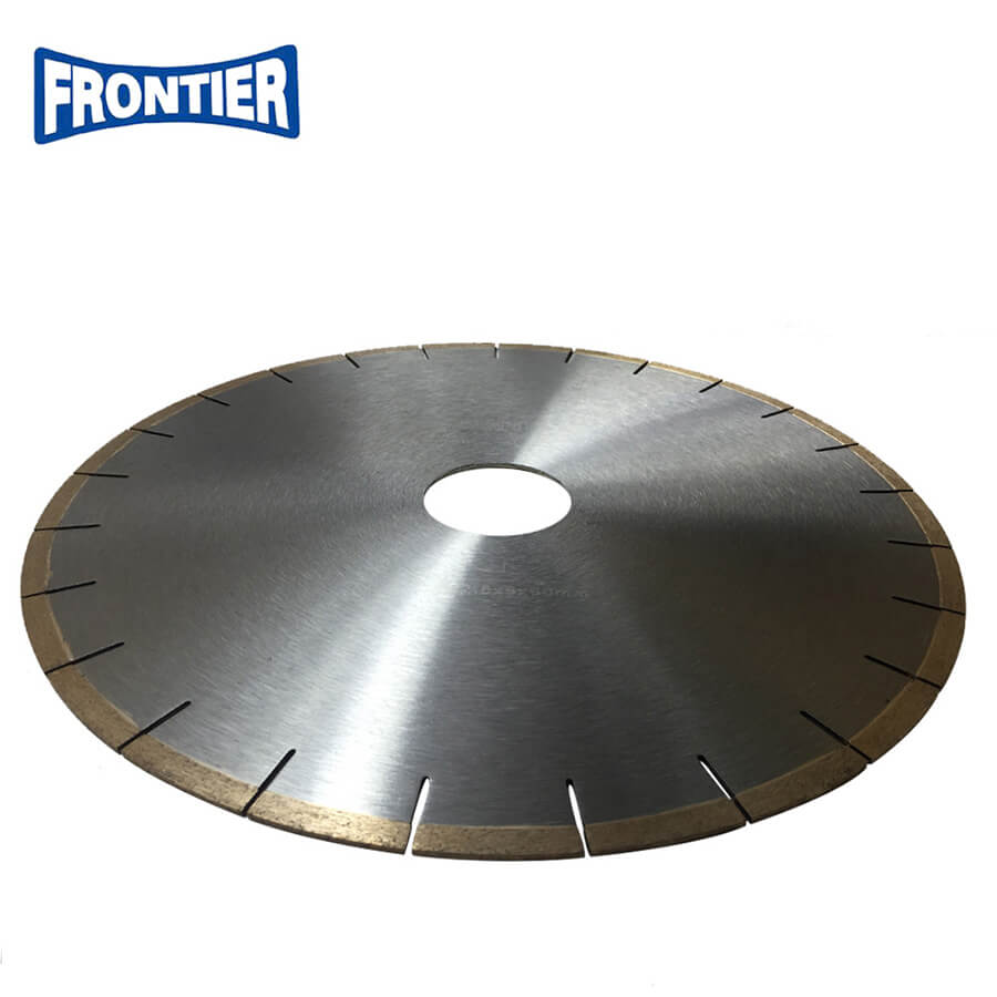 Cooling holes laser welded diamond saw blade for cutting Marble with Certifications OSA,MPA ,ISO9001:2008,BV