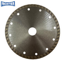 150*2.8/1.4*7*50*22.23mm Cold Press Sintered Diamond Turbo Diamond Disc for Cutting Granite