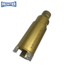 35*108*1/2GAS & M14 thread Silver Brazed diamond segmented Core drill bit for dry cutting reinforced concrete , concrete