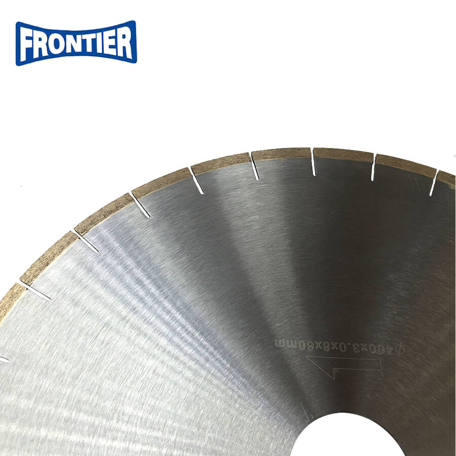"400mm 16"" inch 8mm height 60mm inner hole diamond saw blade for cutting marble"