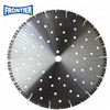 "400mm 16"" inch 25.4mm laser welded diamond saw blade for cutting Concrete with cooling holes"