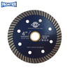 Hign class 105*1.2/0.8*10*60*20mm Hot Press 4inch turbo diamond saw blade for cutting tile